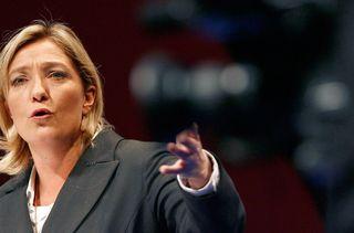 Marine Le Pen le 18 novembre 2007. (REGIS DUVIGNAU / REUTERS)