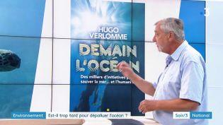 L'écrivain Hugo Verlomme (France 3)