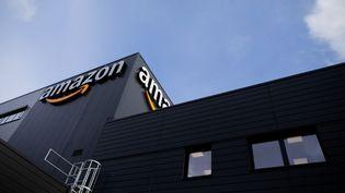 Un entrepôt d'Amazon, le 8 décembre 2020 à Mönchengladbach (Allemagne). (ROLF VENNENBERND / DPA / AFP)