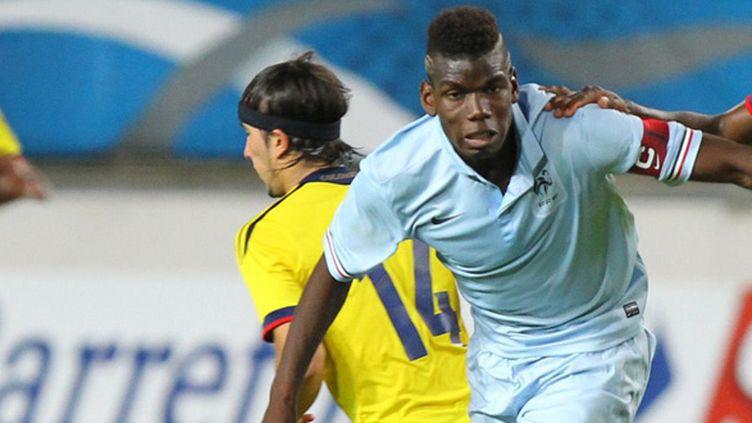 Le capitaine des Bleuets, Paul Pogba