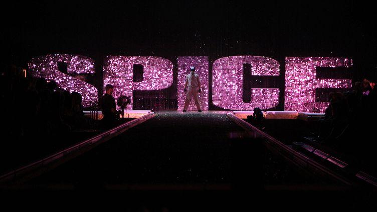 """Les Spice Girls fêtent les 25 ans de leur premier album, """"Spice"""". (CLIFF LIPSON / MAXPPP)"""