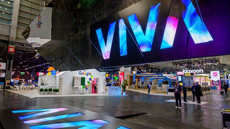 """Le salon VivaTechnology,organisé par les groupes Les Échos et Publicis, doit revenir à un événement """"physique"""" du 16 au 19 juin 2021 à Paris si la situation sanitaire le permet. (VivaTech)"""