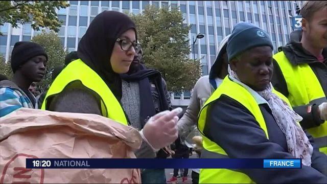 Un nouvel afflux de migrants à Paris