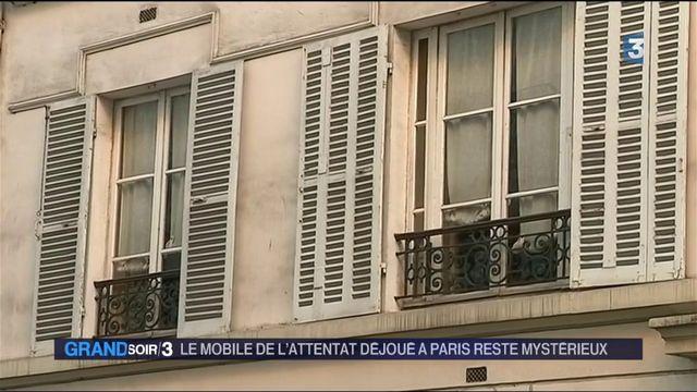 Le mobile de l'attentat déjoué à Paris reste mystérieux