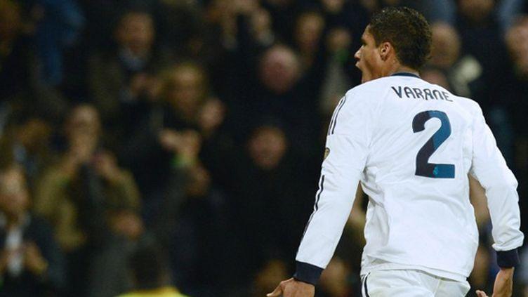 Raphaël Varane (Real Madrid) héros d'un soir (JAVIER SORIANO / AFP)