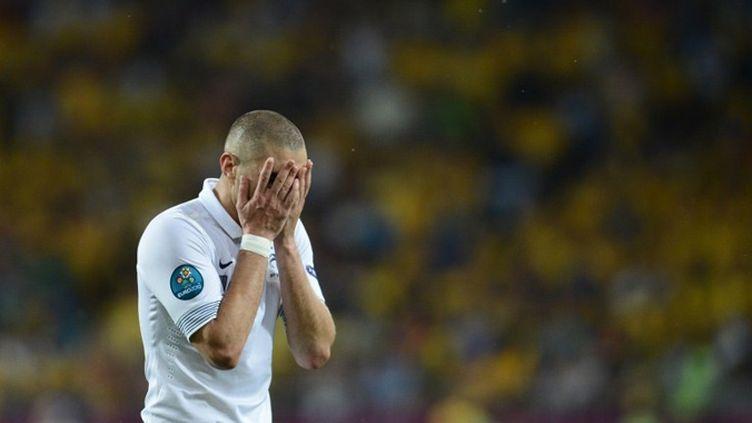 Karim Benzema  effondré par la médiocrité de sa propre prestation