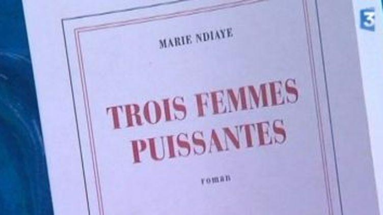 Le Goncourt à Marie Ndiaye  (Culturebox)
