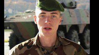 France 2 a suivi un militaire de 23 ans qui s'apprête a rejoindre le Mali dans quelques semaines. (France 2)