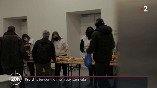 Vague de froid : des associations viennent en aide aux sans-abri