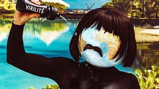 """Le personnage à tête de globe terrestre du clip """"La Fever"""" (Uslef Remix) de Julien Doré. (GOLEDZINOWKSI)"""