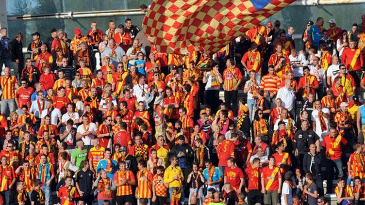 Les supporters du RC Lens