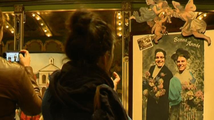 Le selfie en version 19e siècle...  (France 3 Culturebox (capture d'écran))