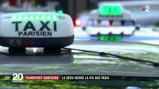 Transport sanitaire : la sécu demande des efforts aux taxis