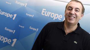 L'animateur d'Europe 1, Jean-Marc Morandini, le 19 mars 2015 dans les studios de la radio. (DOMINIQUE FAGET / AFP)