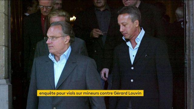 Une enquête pour viols sur mineurs ouverte contre Gérard Louvin et Daniel Moyne