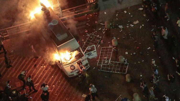 Incidents en pagaille lors des manifestations à Sao Paulo