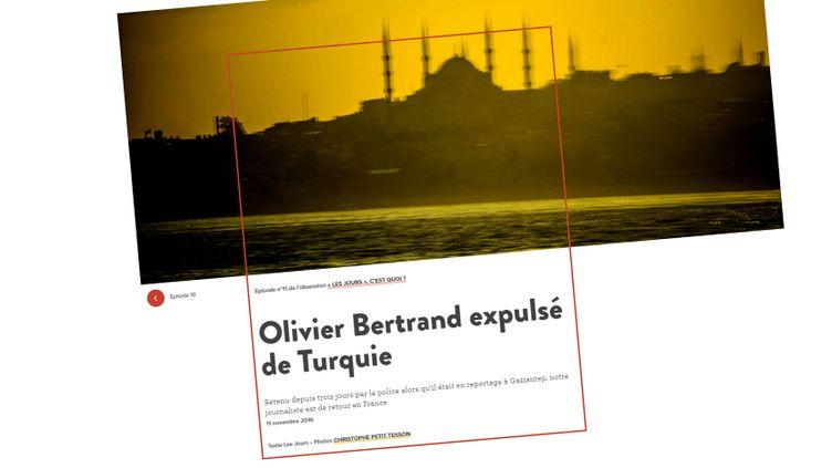 Capture d'écran du site Internet lesjours.fr (LESJOURS.FR)