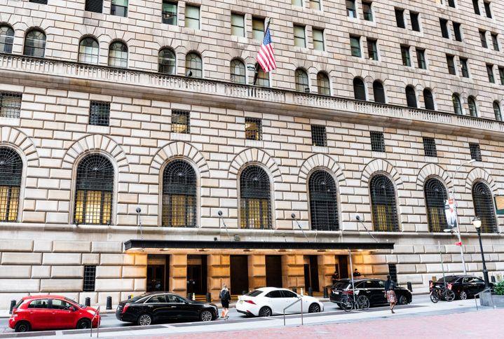 Siège de la Réserve fédérale de New York, le 19 juillet 2018. (SOPA IMAGES / Contributeur)