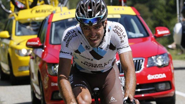 Christophe Riblon déjà échappé lors de la 8e étape du Tour