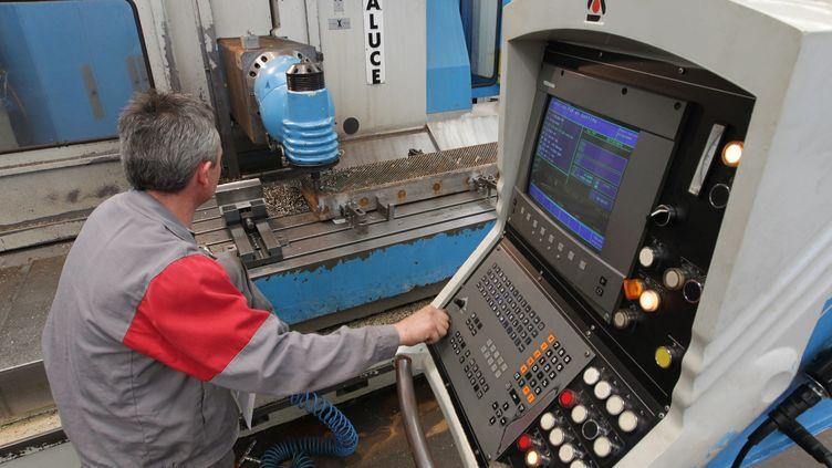 Fabrication de machines pour l'agroalimentaire (image d'illustration). (FRANÇOIS DESTOC / MAXPPP)