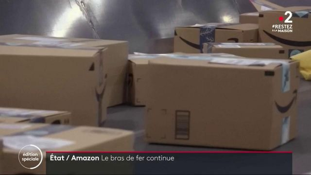 Coronavirus : l'État refuse le chômage partiel chez Amazon