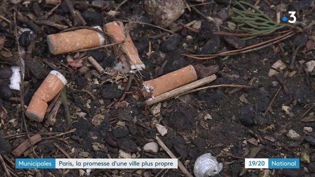 Municipales : Paris, la promesse d'une ville plus propre