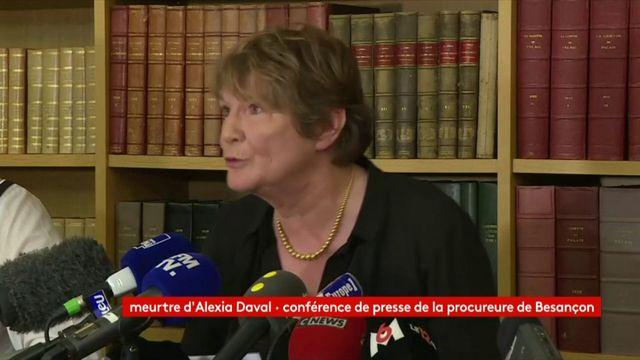 Meurtre d'Alexia Daval : regardez la conférence de presse de la procureure de Besançon