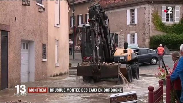 Dordogne : montée des eaux dans le département