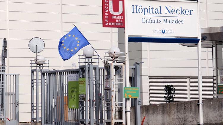 L'hôpital Necker, à Paris. (CATHERINE GRAIN / COMMUNICATION)