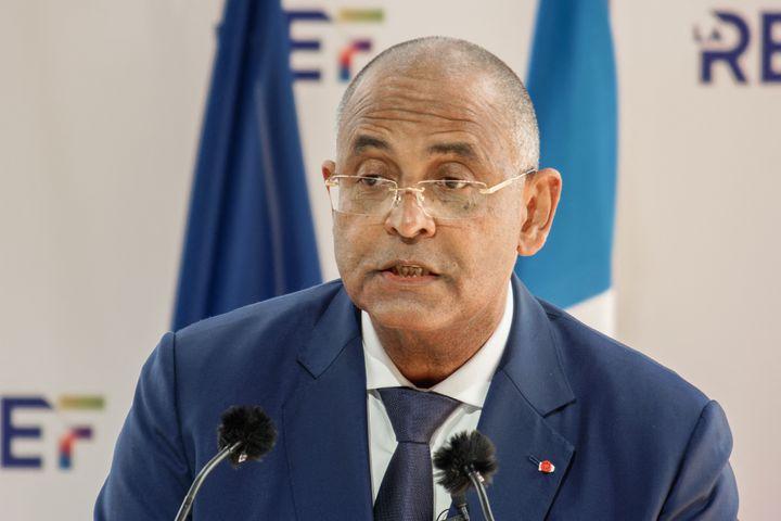Le Premier ministre ivoirien Patrick Achi lors de l'université d'été du Medef à Paris, en août 2021. (DANIEL PIER / NURPHOTO VIA AFP)