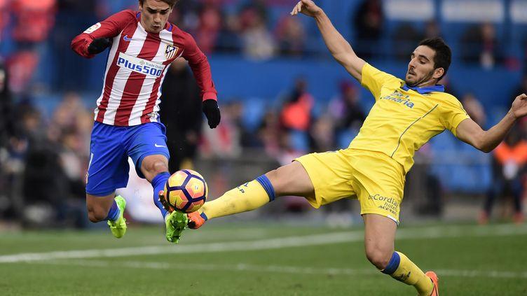 Antoine Griezmann est resté muet face à Las Palmas (JAVIER SORIANO / AFP)