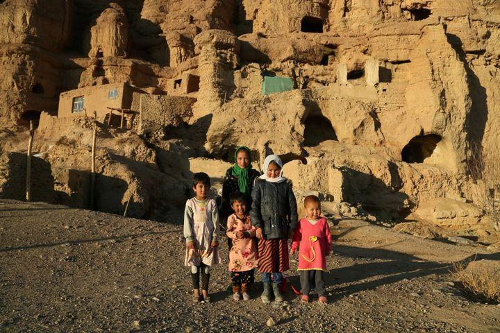 Enfants de Bamyan (MOHAMMAD ALI SHAIDA / AFP)
