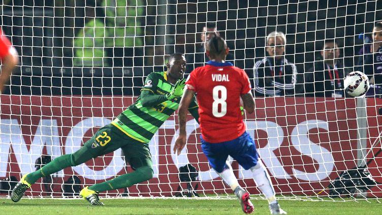Arturo Vidal a ouvert la marque sur penalty (MEXSPORT / PHOTOSPORT CL/ ANDRE / MEXSPORT)