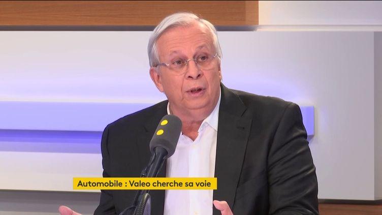Jacques Aschenbroich, PDGde Valeo, le 26 novembre 2018 sur franceinfo. (FRANCEINFO / RADIOFRANCE)