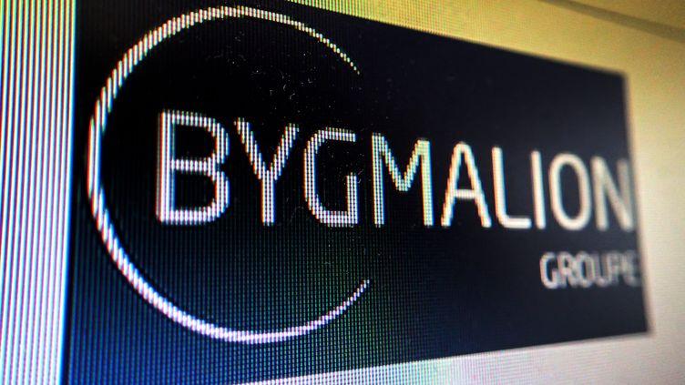 Le logo de la société Bygmalion sur son site internet, le 31 mai 2014. (  MAXPPP)