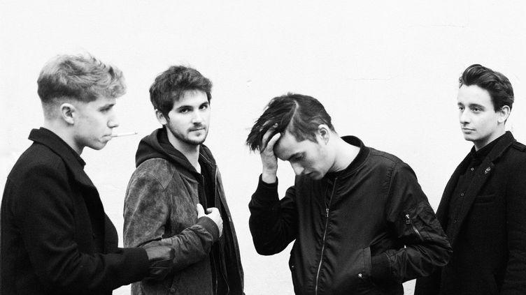 Jean-Noël, Julien, Tim et Antoine, les quatre membres ud groupe Last Train.  (Lucie Rimey Meille)