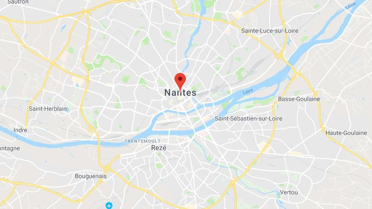 Nantes (GOOGLE MAPS)