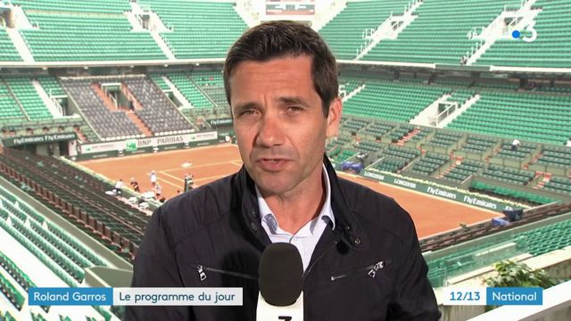 Roland Garros : le programme du jour
