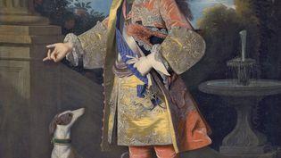 Exposition Jean Ranc au Musée Fabre.Portrait de l'infant Ferdinand, futur roi d'Espagne, vers 1723, huile sur toile, 144 x 116 cm, (Museo Nacional del Prado, Dist. RMN-GP / image du Prado)