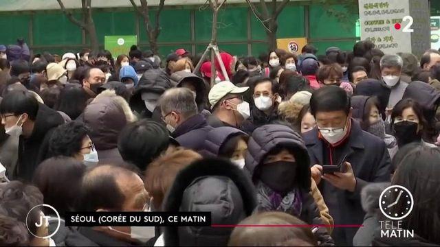 Covid-19 : en Chine, les contaminations quotidiennes sont en baisse