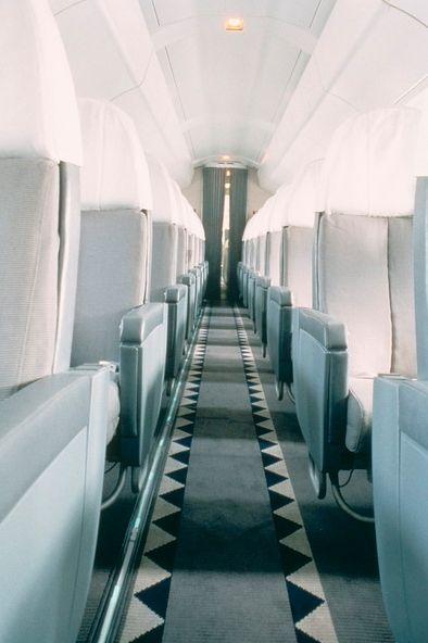 Le Concorde dessiné par Andrée Putman et exposé à l'Hôtel de Ville de Paris en 2011.  (Deidi Von Schaewen)