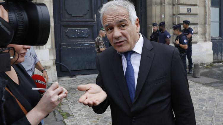 L'avocat Antoine Casubolo-Ferro, le 10 juillet 2017. (PATRICK KOVARIK / AFP)