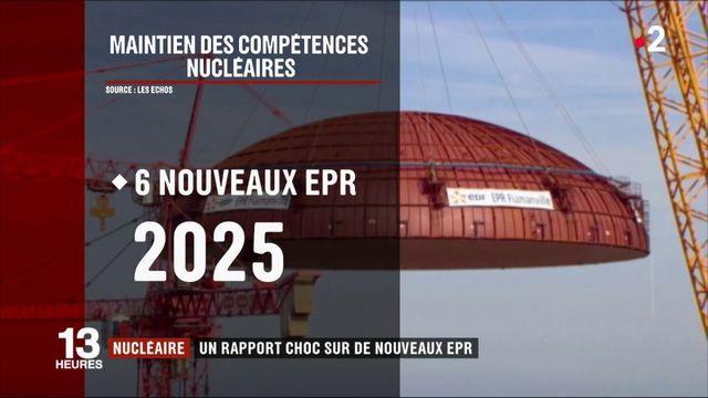 Nucléaire : un rapport choc sur de nouveaux EPR
