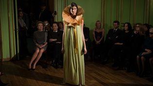 Cardin haute couture Maxim's la nuit, le 26 novembre 2013 à Paris  (Martin Bureau /AFP)