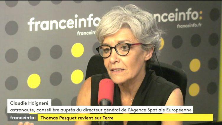 Claudie Haigneré, le 2 juin 2017. (FRANCEINFO)