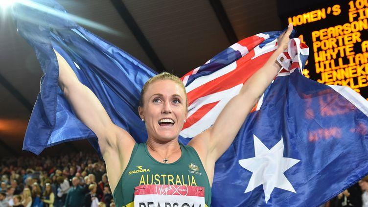 L'Autralienn Sally Pearson ne se fait guère d'illusion à un an de Rio...  (BEN STANSALL / AFP)
