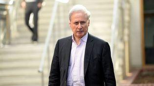 Georges Tron, le 14 novembre 2018, lors du procès aux assises de Seine-Saint-Denis. (MAXPPP)