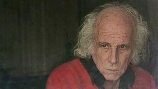 Léo Ferré dans sa loge du Déjazet le 9 novembre 1990  (Ambroise Perrin)