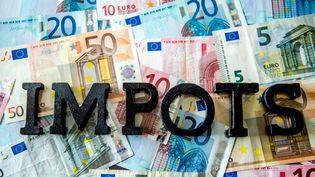 Pour la troisième année de suite, la France est le pays européen où la taxation représente la part la plus importante du PIB, d'après Eurostat. (PHILIPPE HUGUEN / AFP)