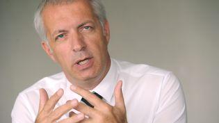 Christophe Perny, président socialiste du conseil général du Jura, le 4 septembre 2012 à Lons-le-Saunier (Jura). (MAXPPP)